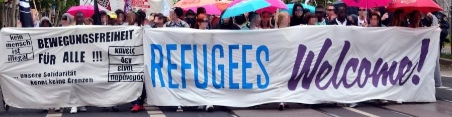Bündnis »Refugees Welcome« Leipzig